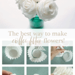 Coffee Filter Flowers Pinterest Duo Pink