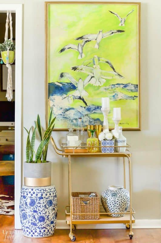 Colorful Spring Home Tour Decorating Ideas