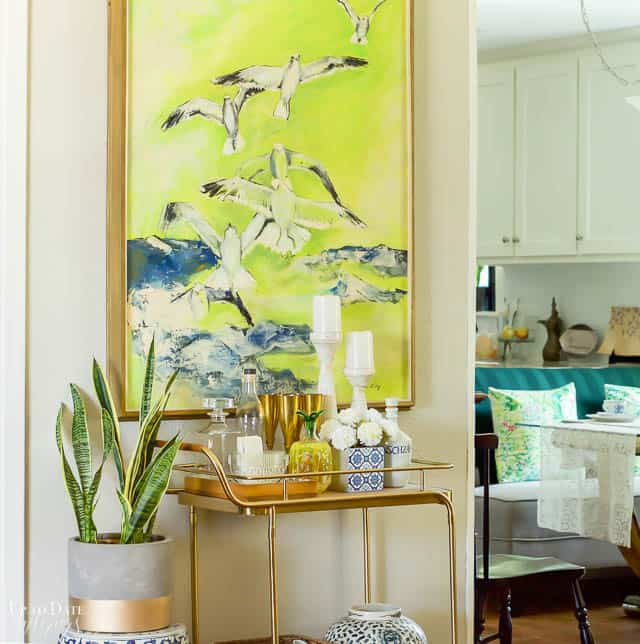 Colorful Spring Home Tour Decorating Ideas 3