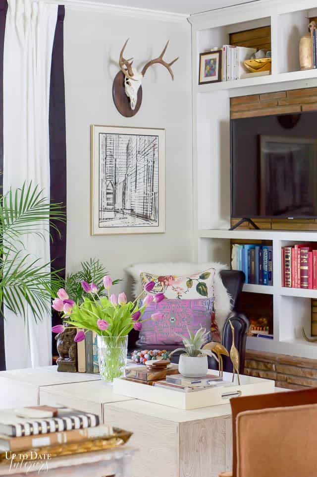 Colorful Spring Home Tour Decorating Ideas 4