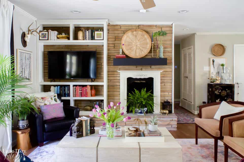 Colorful Spring Home Tours Decorating Ideas 6