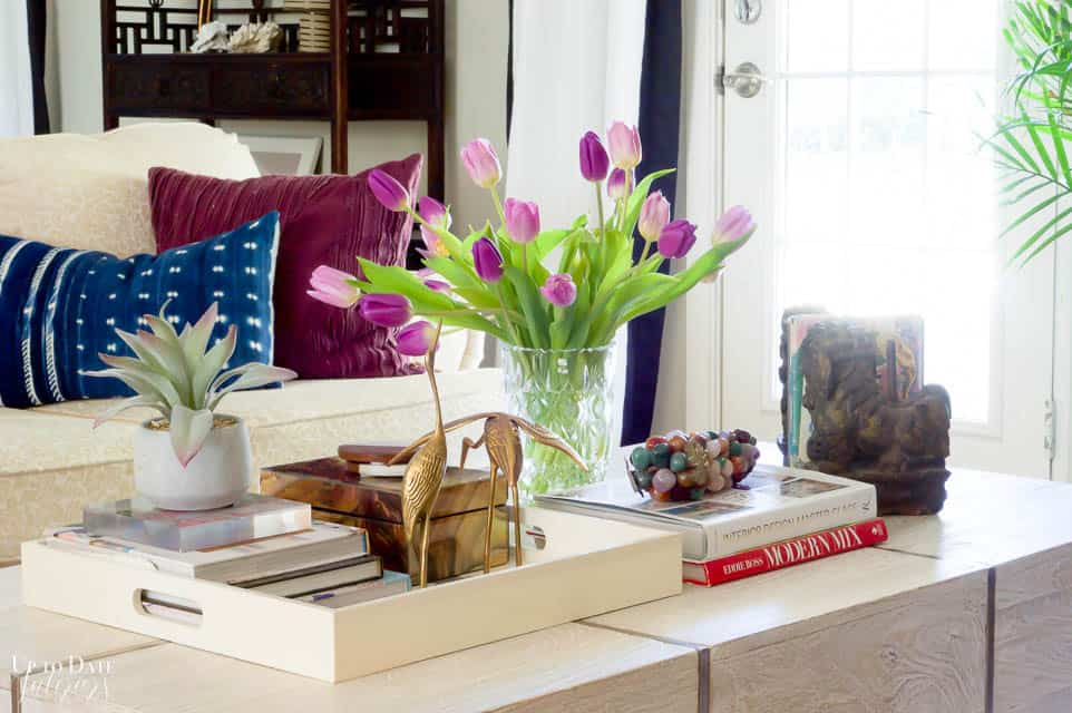 Colorful Spring Home Tour Decorating Ideas 7