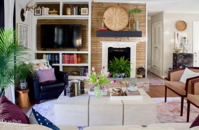 Colorful Spring Home Tour Decorating Ideas Brighter 2