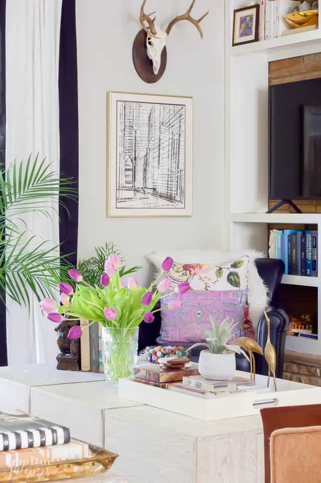 Colorful Spring Home Tour Decorating Ideas Brighter