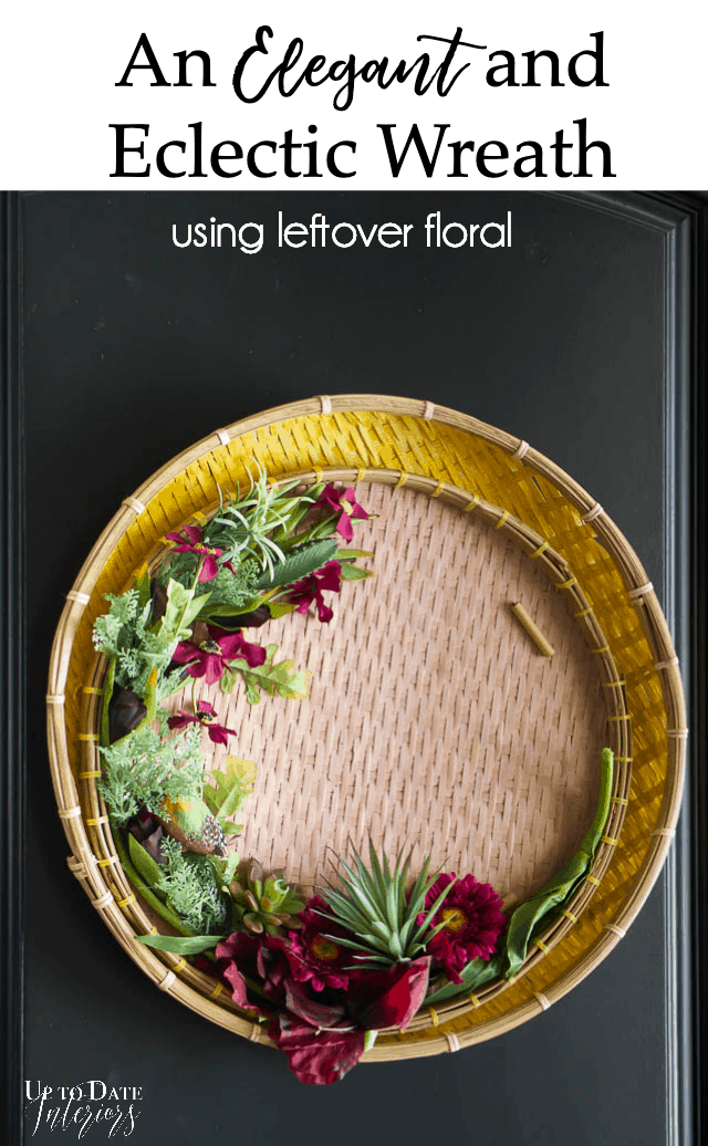 Elegant Eclectic Spring Wreath