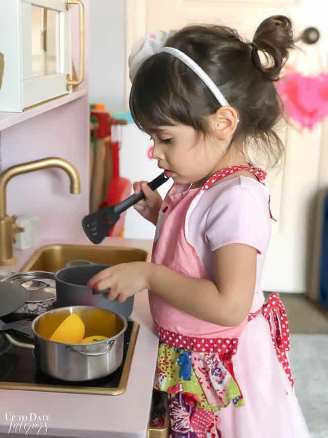 Ikea Play Kitchen Makeover Velvet Finishes 10