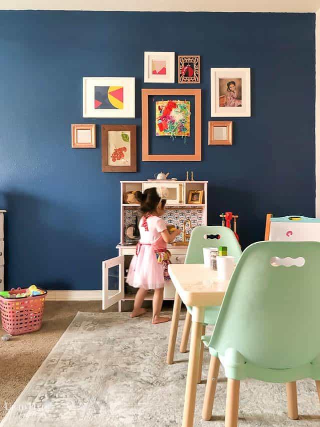 Ikea Play Kitchen Makeover Velvet Finishes 9