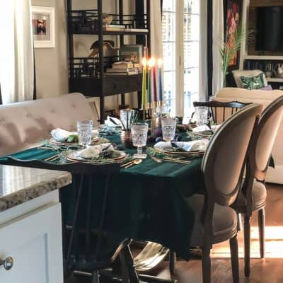 Modern Easter Tablescape With Moody Colors 4