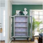 Boho Glam Cabinet Makeover Green Font Pinterest