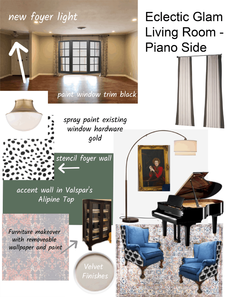 Piano Side Mood Board Orc