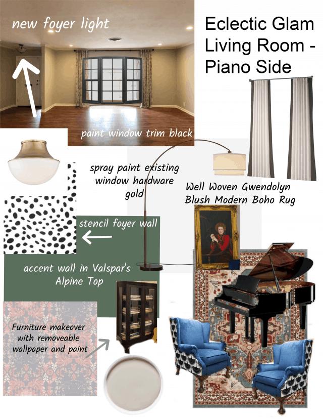 Piano Side Mood Board Well Woven