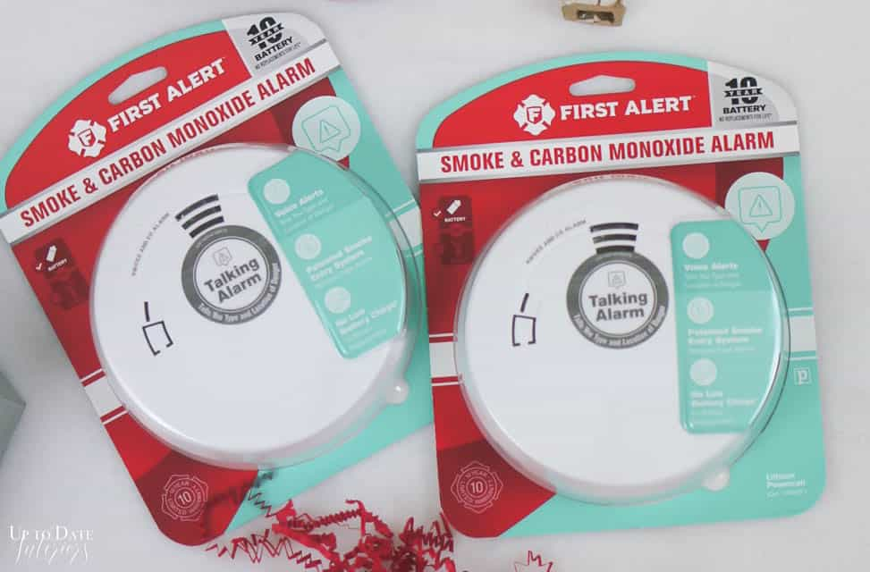 First Alert Voice Location Technology Smoke Alarms