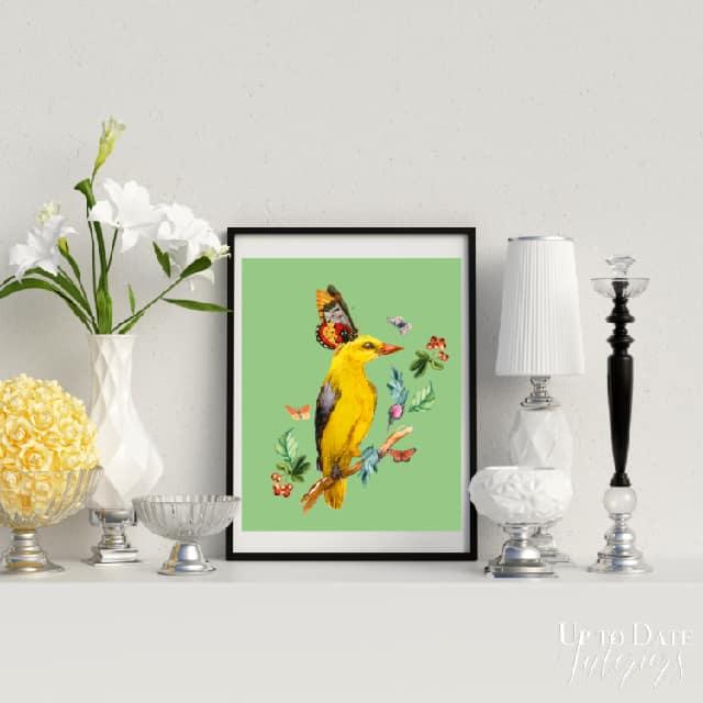 Yellow Bird Series Styled