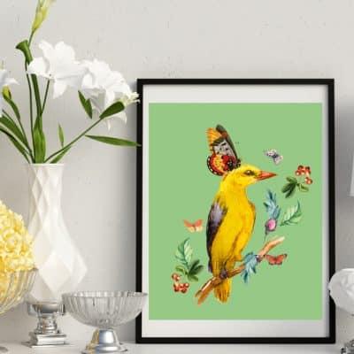 Yellow Bird Series Tall