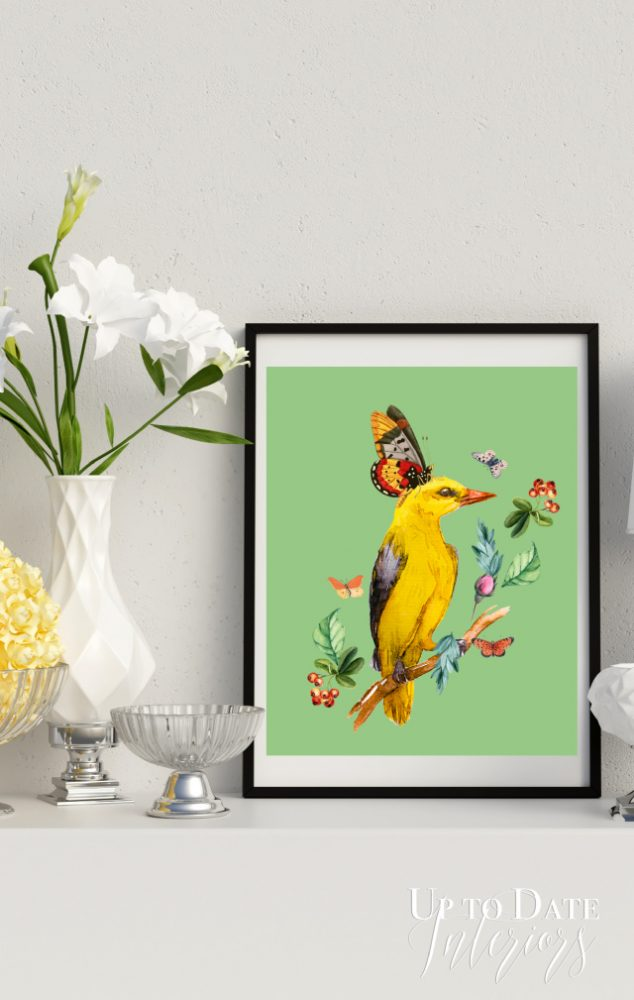 Yellow Bird Series Tall
