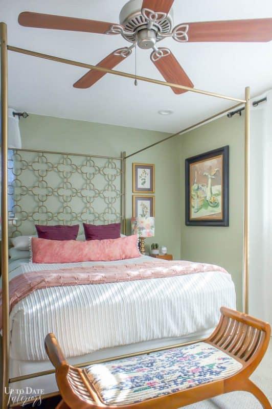 Eclectic Home Summer Bedroom 2