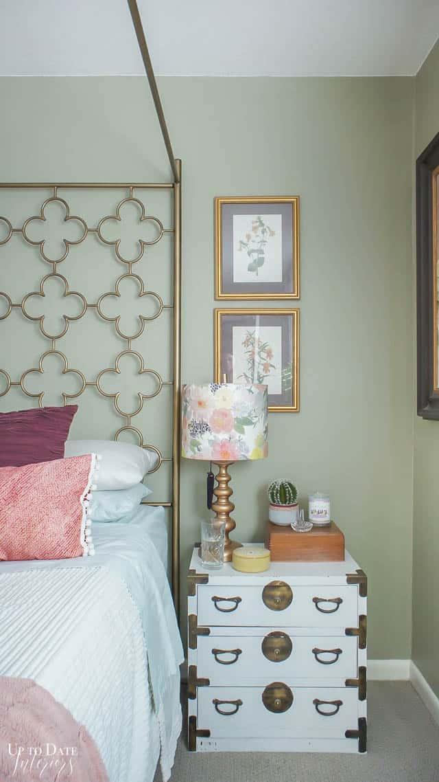 Eclectic Home Summer Bedroom 3