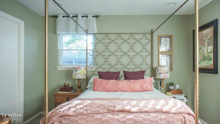 Eclectic Home Summer Bedroom