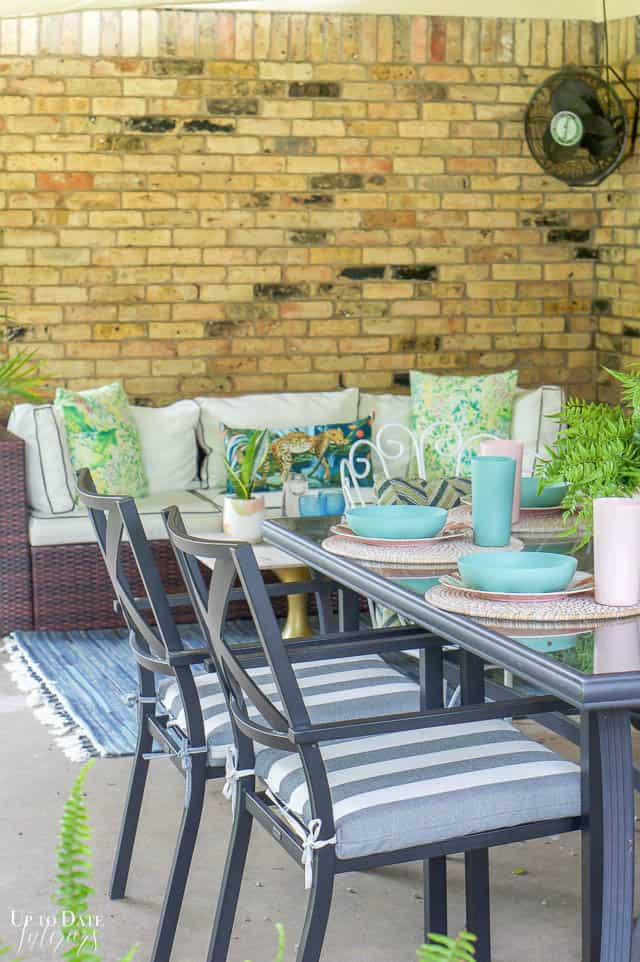 Eclectic Home Summer Tour Patio 11