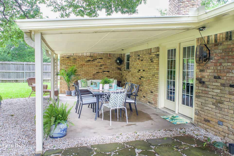 Eclectic Home Summer Tour Patio 15