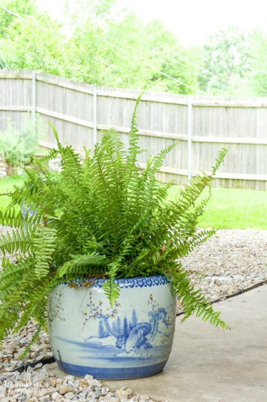 Eclectic Home Summer Tour Patio 2