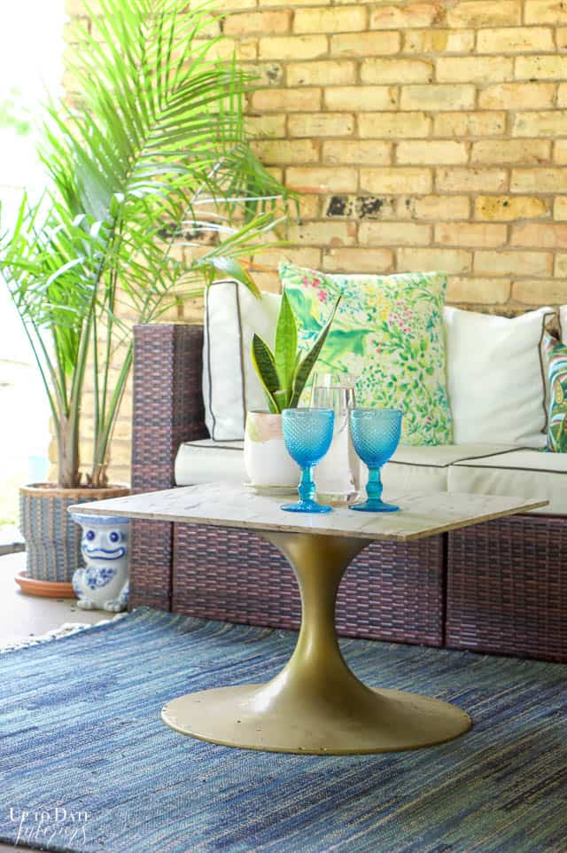 Eclectic Home Summer Tour Patio 6