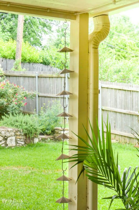 Eclectic Home Summer Tour Patio 7
