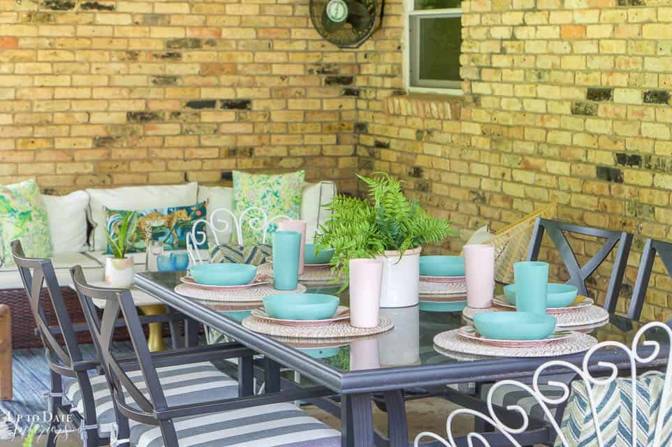 Eclectic Home Summer Tour Patio