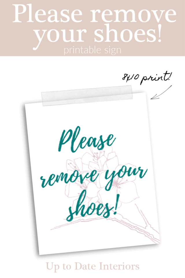 Please Remove Your Shoes Pinterest Pink