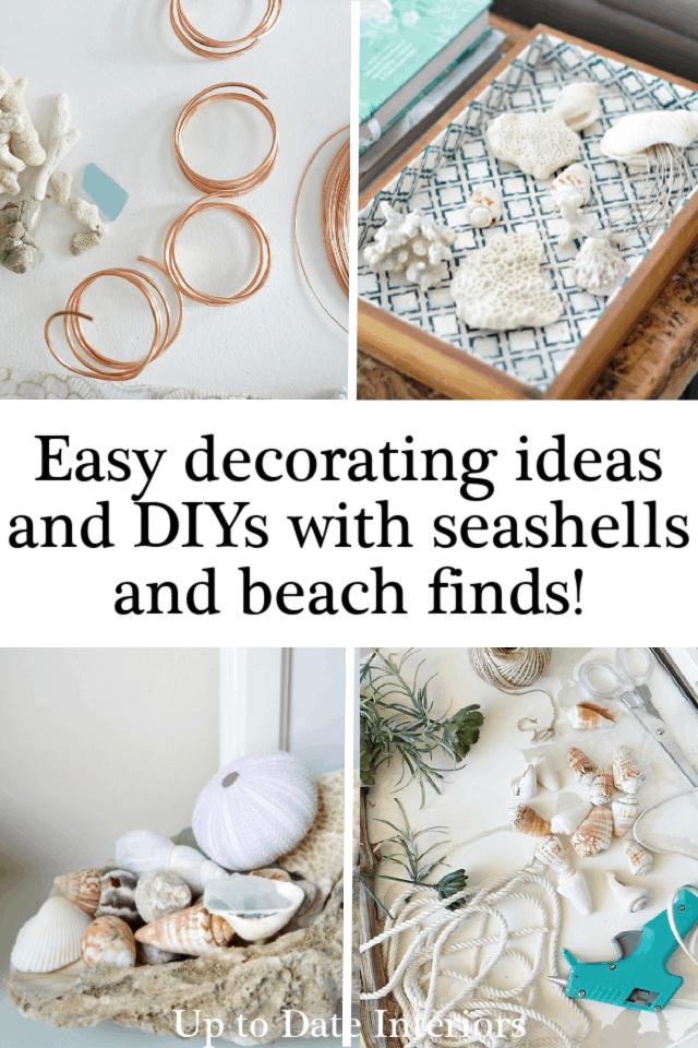 Seashell Decorating Ideas And Diys Black Pinterest
