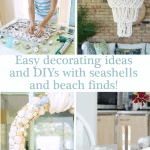 Seashell Decorating Ideas And Diys Pinterest Blue Two