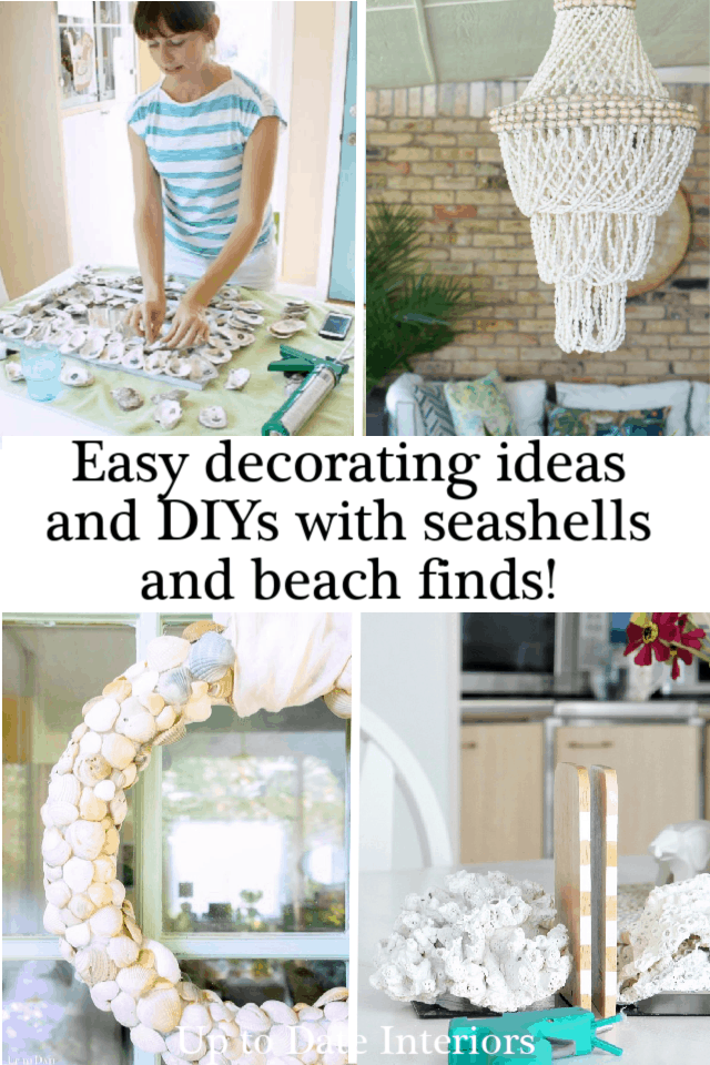 Seashell Decorating Ideas And Diys Pinterst Black Two