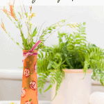 How To Paint A Dollar Tree Vase