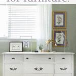 paint for furniture Painted Dresser Pinterest Purple