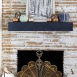 Fall Home Tour On A Budget Fireplace
