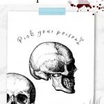 Pick Your Poison halloween printable art Pinterest