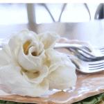 Plaster Flowers Plates Pinterest