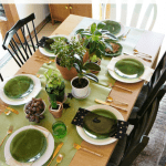 Witches Tea Party Green Pinterest