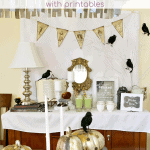Witches Tea Party With Printables Pinterest