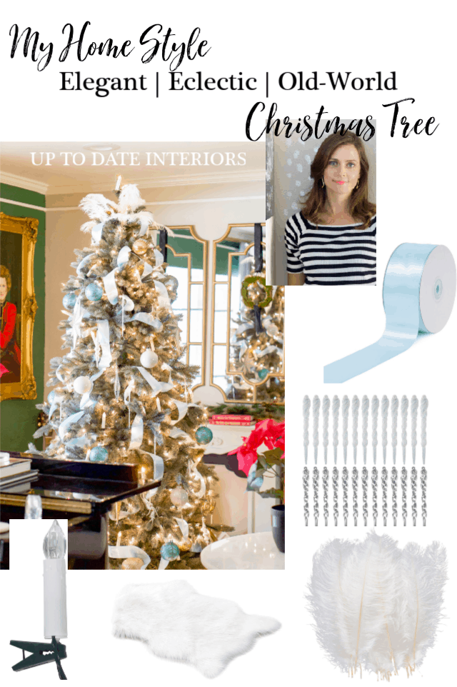 Eclectic Christmas Tree Decorating