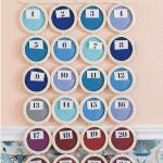 Advent Calendar Pinterest Blue