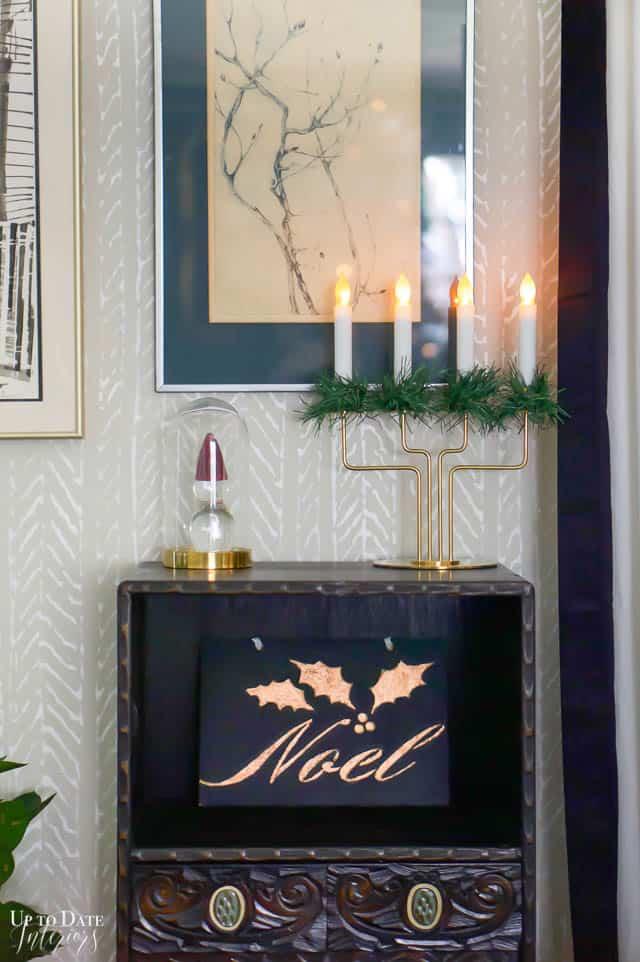 Christmas Home Tour Tree Candle Light Edited 67