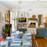 Eclectic Christmas Home Tour Tips Green