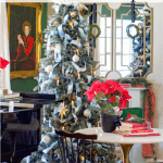 Eclectic Christmas Home Tour Tips Tree Black