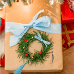 Ideas For Holiday Gift Wrap Blue