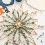 Make Rosemary Wreath Christmas Green