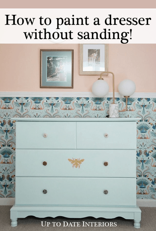 Paint A Dresser Mint Without Sanding