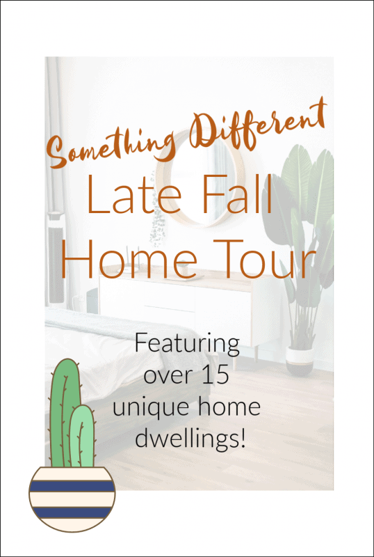 Something Different Late Fall Home Tour Graphic
