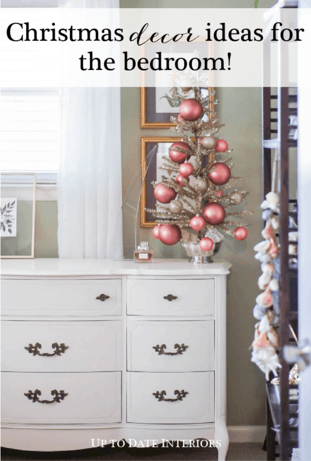 Beautiful Vintage Style Christmas Decorations In The Bedroom Up To Date Interiors