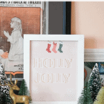 Christmas Printable Art Black
